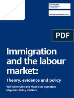 Immigration and the Labour Market