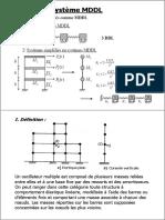 Systèmes MDDL_VibrationsLibres