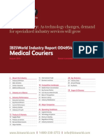 OD4954 Medical Couriers Industry Report