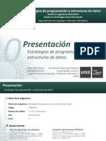 T0 - Presentación