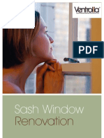 Ventrolla Sash Window Domestic Brochure