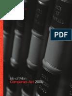 IOM Companies Act 2006