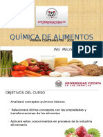 Asignatura Quimica de Alimentos