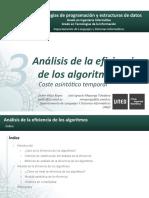 T3 - Análisis de La Eficiencia de Los Algoritmos