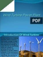 Wind Turbine Power Plant Presentation