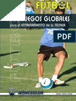 LIBRO Fútbol 1380 Juegos Para El Entrenamiento de La Técnica