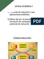 Quimica Analitica 1 - Redox