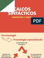 Calcos sintácticos