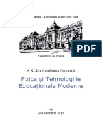 Abstract Book FTEM 2013