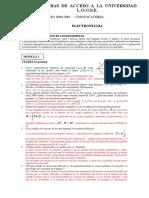 Examen resuelto selectividad Canarias Electrotecnia Septiembre 2001
