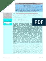 ROUVROY et BERNS Gouvernementalité Algorithmique Et Perspectives d'Émancipation