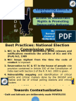 National Dalit Election Watch on Promoting Democracy
