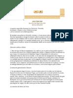 Carta Encíclica Adiutricem Populi Sobre El Rezo Del Santo Rosario en Favor de Los Disidentes