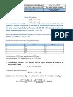 Problema 14.14. Ingeniería de Reactores DTR