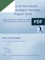 Peer Training