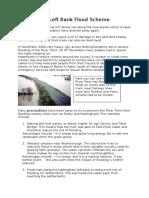 nottingham left bank flood scheme