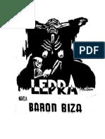 Barón Biza - Lepra (Fragmentos)