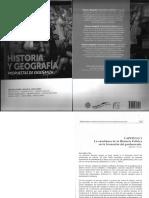 SALTO v. (2015) La Enseñanza de La Historia Política en La Formación Del Profesorado