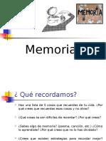 Memoria PPT