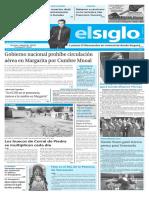 Edición Impresa El Siglo 11-09-2016