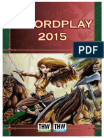 Two-Hour-Wargames - Swordplay - 2015 - Version