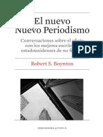 Prologo e Introduccion Nuevo Nuevo Periodismo
