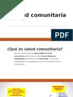 Salud Comunitaria - Sesión 01