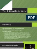 the british atlantic world - part 1
