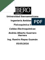 Sobre las celdas electroquímicas
