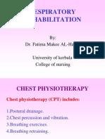 Respiratory Rehabilitation