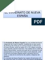 El Virreinato de Nueva España