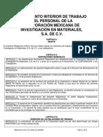 Reglamento Interno de Trabajo COMIMSA México.pdf
