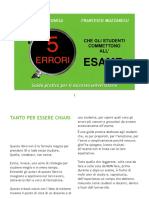 i 5 Errori eBook