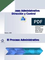 El Proceso Administrativo - Dirección y Control