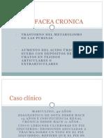 Gota Tofacea Cronica