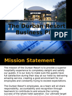 Durban Resort Business Plan