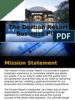 Durban Resort Business Plan