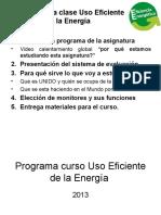 Programa Curso Uso Eficiente de La Energía