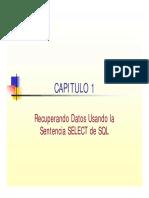 Capitulo 01 Recuperando Datos Usando La Sentencia SELECT de SQL 30