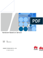 Handover Based on Service