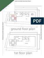 Ground Flr & 1st Floor Plan