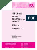 Ail Deli-A2 Test Modello 13
