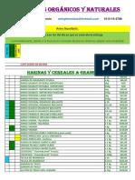 Alimentos Organicos Al 29-04-16