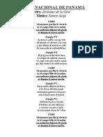Letras de Cantos