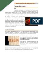 Ceras Dentales PDF Nuevo Contenido