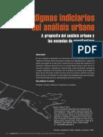 Paradigmas Del Análisis Urbano