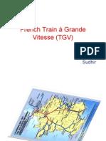 French train à grande vitesse (TGV