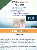 Clase 1 - Derecho a 2016