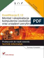 E.12. Montaż i Eksploatacja Komputerów Osobistych