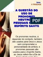 6 Uso de Pronomes Neutros e Pessoais